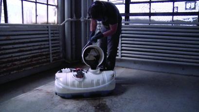 Waste-oil refining