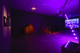 I Saw Three Cities, 2011. Dorsch Gallery (installation view 1)