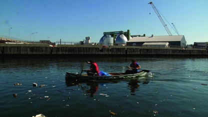 liminal: powered by newton creek, 2010 (video still 1)