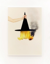 Uh‐Huh (Witch Hat), 2015; Archival pigment print in artist's frame; 28 x 39 inches